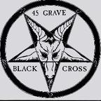 45 Grave - Black Cross