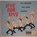 Bill Holman · Mel Lewis Quintet - Jive For Five