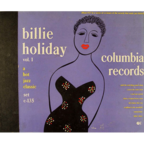 Billie Holiday And Her Orchestra - Vol. 1 (released by Billie Holiday)