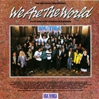 Bruce Springsteen & The E Street Band - We Are The World (released by USA For Africa)