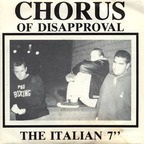 """Chorus Of Disapproval - The Italian 7"""""""