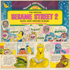 Cookie Monster And Herry Monster - Sesame Street 2 · The Official Book-And-Record Album