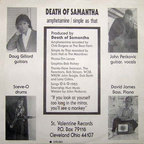 Death Of Samantha - Amphetamine