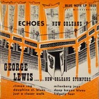 George Lewis And His New Orleans Stompers - Echoes Of New Orleans