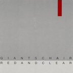 Giants Chair - Red And Clear