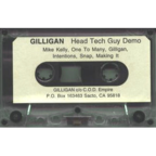 Gilligan - Head Tech Guy Demo