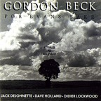 Gordon Beck - For Evans Sake · A Tribute To Bill Evans
