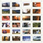 Hal Al Shedad - Post Marked Stamps