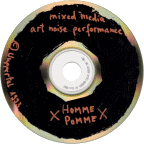 Homme Pomme - Mixed Media Art Noise Performance