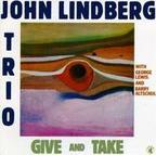 John Lindberg Trio - Give And Take