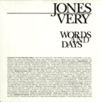 Jones Very - Words And Days