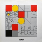 Klaus Krüger - One Is One