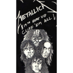 Metallica - $19.98 Home Vid · Cliff 'Em All!