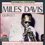 Miles Davis Quintet - New York City, Philharmonic Hall At Lincoln Center, February 12, 1964