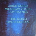 Miroslav Vitous - Trio Music, Live In Europe