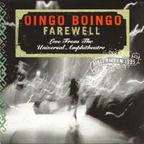 Oingo Boingo - Farewell · Live From The Universal Amphitheatre · Halloween 1995