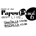 Paper Bag - Drapes Of Rain · Live