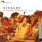 Pavlo Beznosiuk · The Academy Of Ancient Music · Christopher Hogwood - Vivaldi · 6 Violin Concertos Op.12