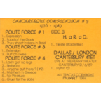 Polite Force - Canteresque #3
