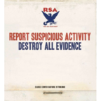 Report Suspicious Activity - Destroy All Evidence