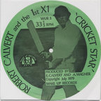 Robert Calvert And The First X1 - Cricket Star