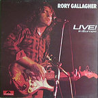 Rory Gallagher - Live! · In Europe