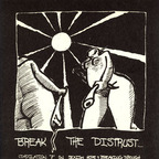 "Sleeper - Break The Distrust... Compilation 7"" On Sexism, Hope & Breaking Through"