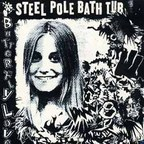 Steel Pole Bath Tub - Butterfly Love