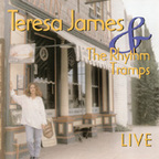 Teresa James & The Rhythm Tramps - Live