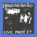 The Boulevard Park Trio - Civic Pride e.p.