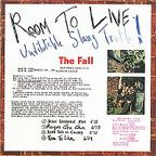The Fall - Room To Live · Undilutable Slang Truth!