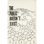 Tom Dyer - The Public Doesn't Exist
