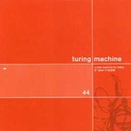 Turing Machine - A New Machine For Living