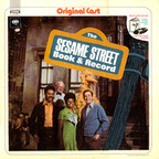 Two Monsters - The Sesame Street Book & Record