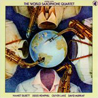 World Saxophone Quartet - Steppin' With The World Saxophone Quartet