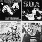 "Youth Brigade (US 1) - Four Old 7""s On A 12"""
